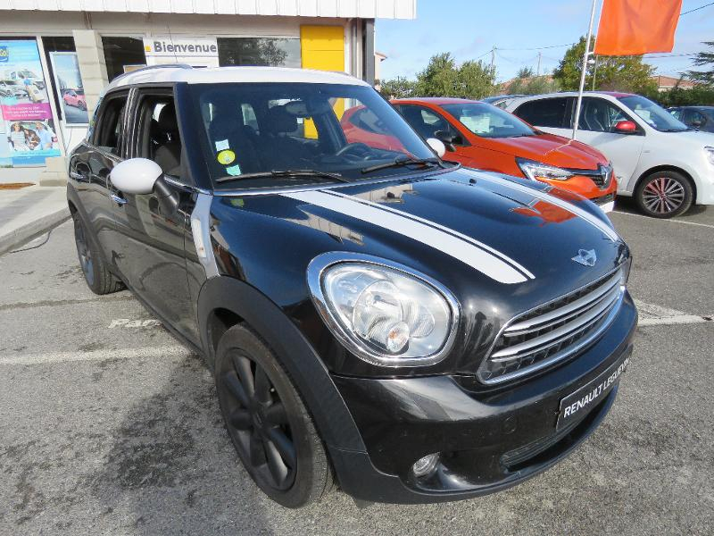 Mini Countryman Cooper D 112ch Pack Red Hot Chili Diesel Noir Occasion à vendre