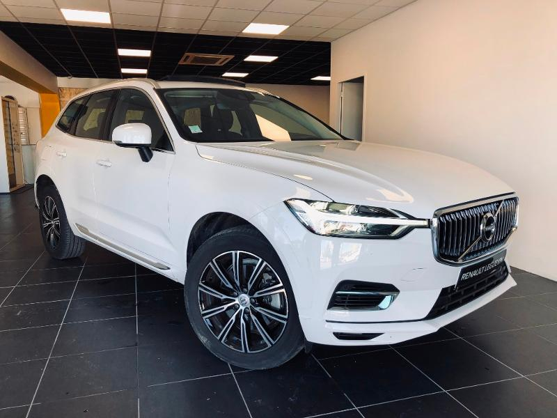 Volvo XC60 T8 Twin Engine 303 + 87ch Inscription Geartronic Hybride Blanc Métal Occasion à vendre
