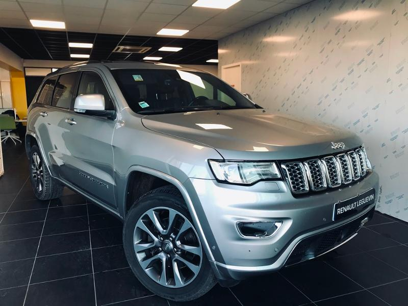 Jeep Grand Cherokee 3.0 V6 CRD 250ch Overland BVA8 Diesel GRIS Occasion à vendre
